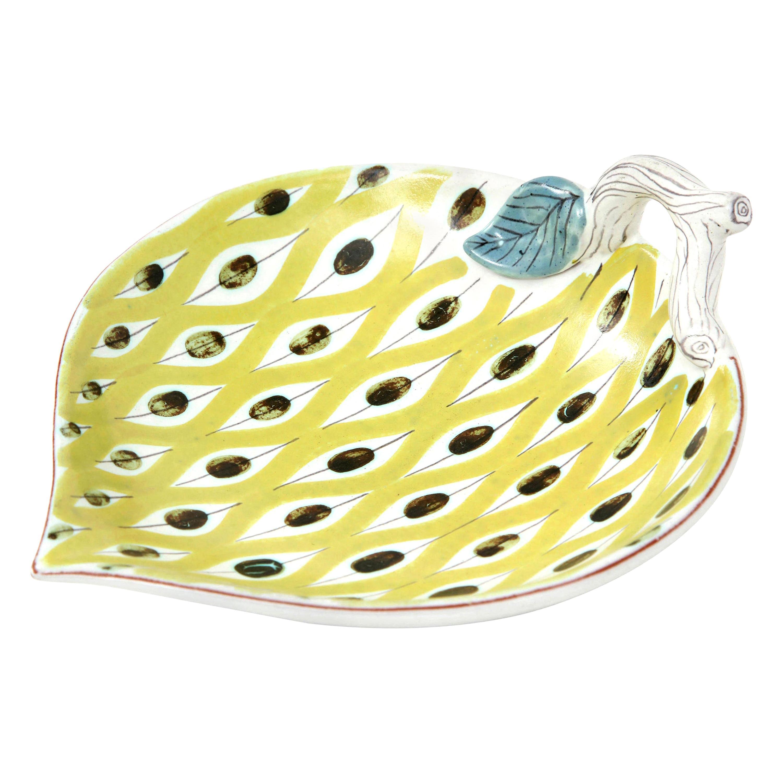 Ceramic Bowl, by Stig Lindberg, Sweden, Midcentury Scandinavian, Faience, C 1950