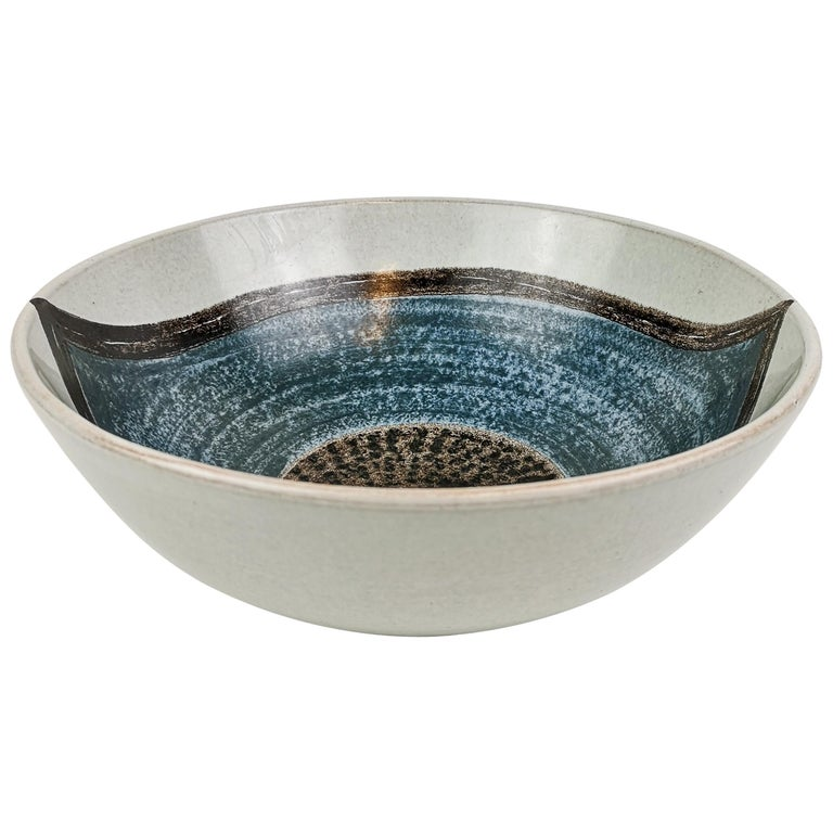 Ceramic Bowl Carl-Harry Stålhane and Aune Laukkanen, Rörstrand Sweden For Sale