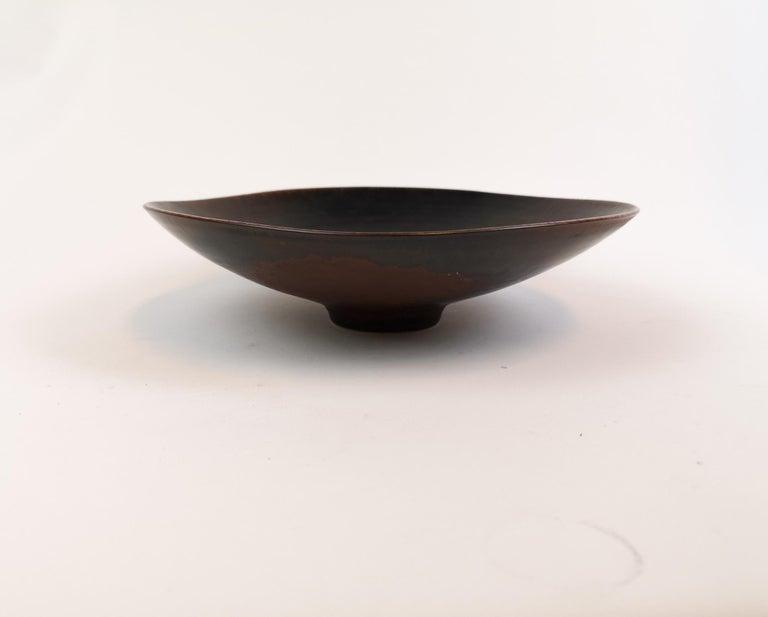 Mid-Century Modern Ceramic Bowl Carl-Harry Stålhane Rörstrand, Sweden, 1950s For Sale