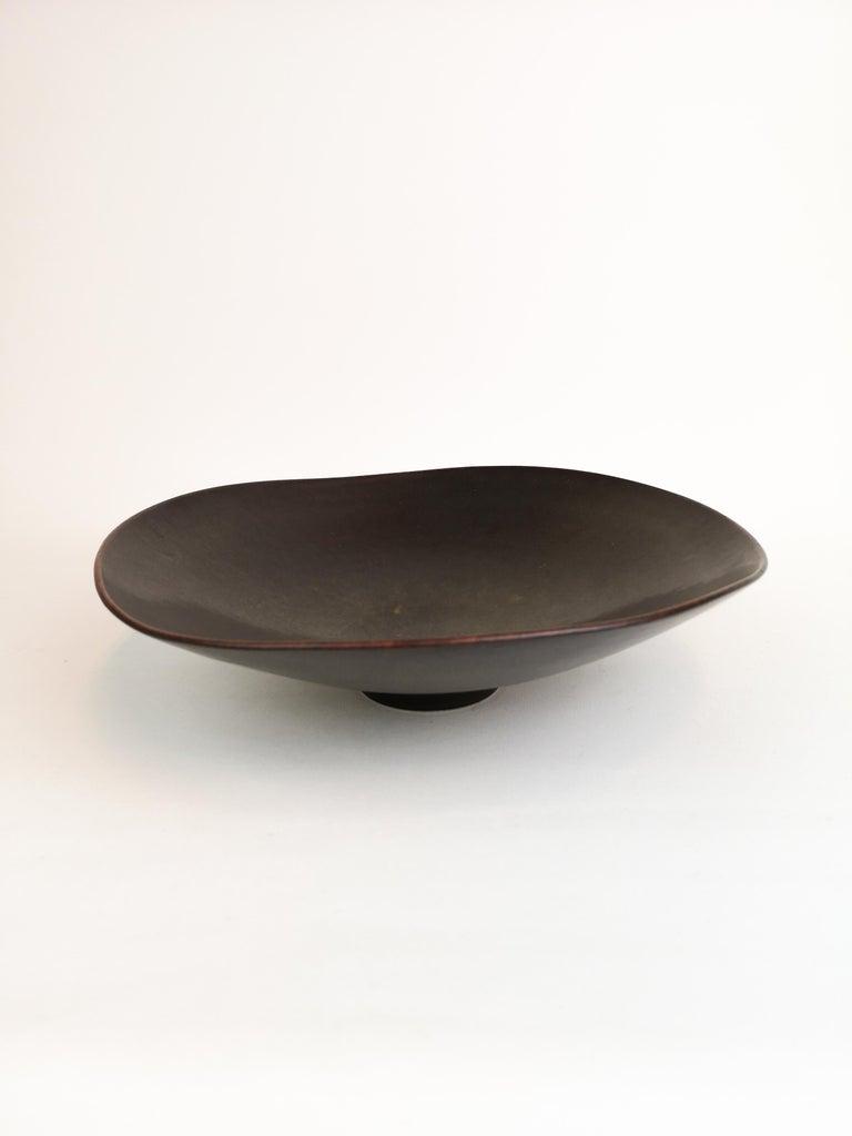 Swedish Ceramic Bowl Carl-Harry Stålhane Rörstrand, Sweden, 1950s For Sale