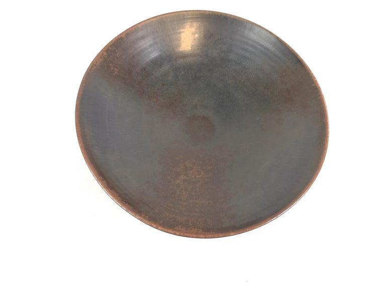 Ceramic Bowl Carl-Harry Stålhane Rörstrand, Sweden, 1950s In Good Condition For Sale In Langserud, SE