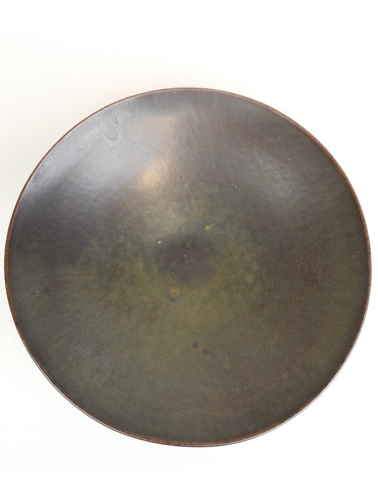 Mid-20th Century Ceramic Bowl Carl-Harry Stålhane Rörstrand, Sweden, 1950s For Sale