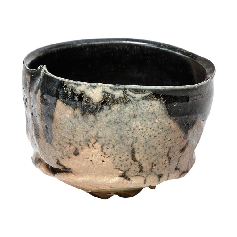 Ceramic Bowl or Cup by Claude Champy, circa 1980-1990