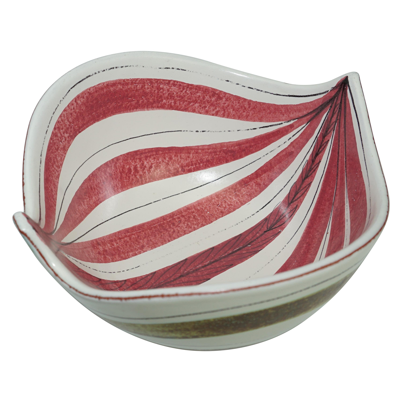 Ceramic Bowl, Scandinavian Mid-Century, by Stig Lindberg, C 1950, Sweden