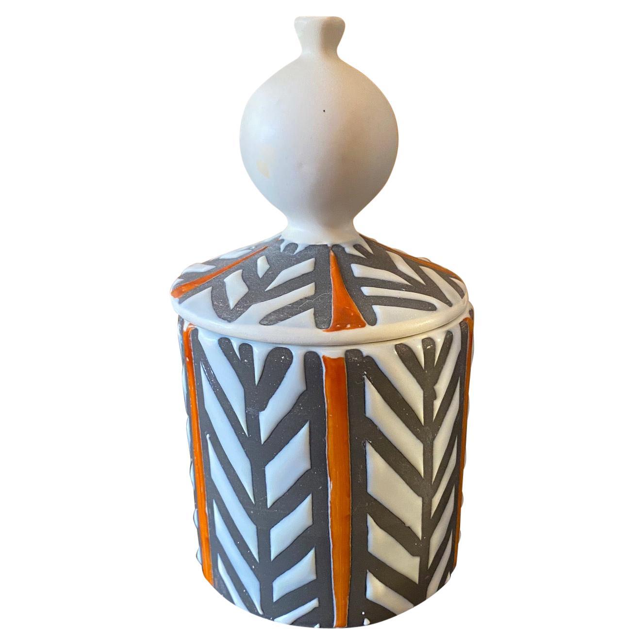 Ceramic Box by Roger Capron, France, 1960s