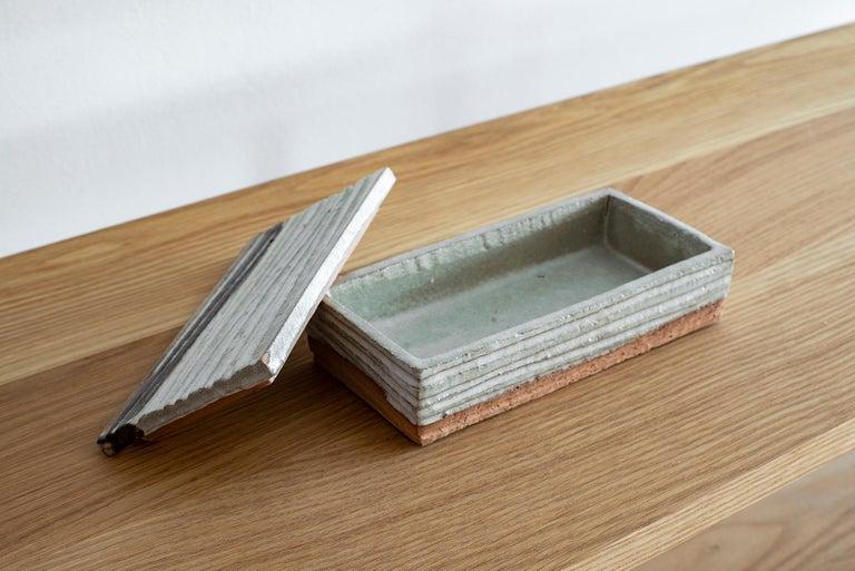 Italian Ceramic Box by Rosenthal Netter For Sale