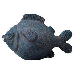 Ceramic Brown Glaze Fish