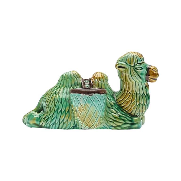 Ceramic Camel Sculpture by Gunnar Nylund, Rörstrand, Sweden, 1960s For Sale