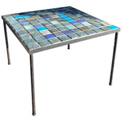 Ceramic Coffee Table by Les 2 Potiers, France, 1960s
