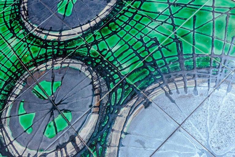 Painted Ceramic Coffee Table Design Juliette Belarti, 1960 For Sale