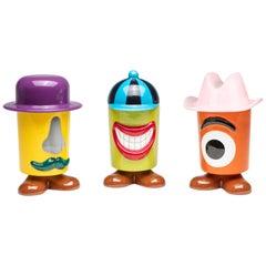 Ceramic Container Trio by Andrea Maestri