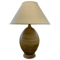 Ceramic Craftsmen Lamp