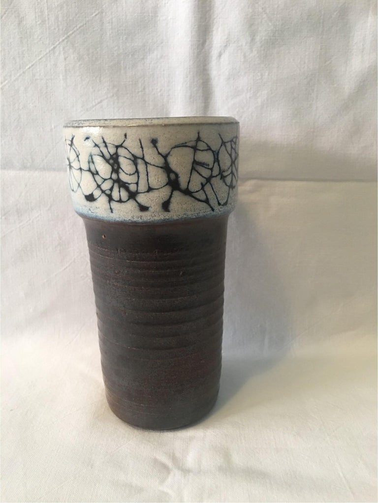 Ceramic Cup Vase by Wilhelm and Elly Kuch of Germany, Nice Item For Sale 1