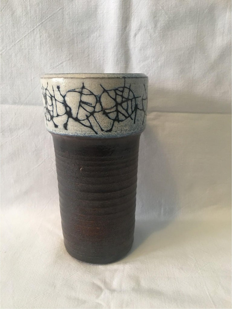 Ceramic Cup Vase by Wilhelm and Elly Kuch of Germany, Nice Item For Sale 2