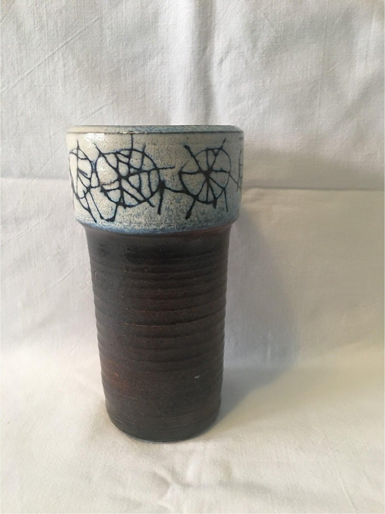 Ceramic Cup Vase by Wilhelm and Elly Kuch of Germany, Nice Item For Sale 3