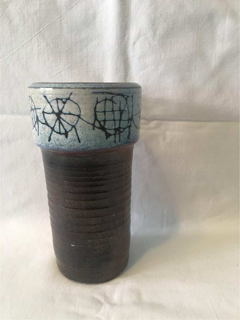 Ceramic Cup Vase by Wilhelm and Elly Kuch of Germany, Nice Item For Sale 4