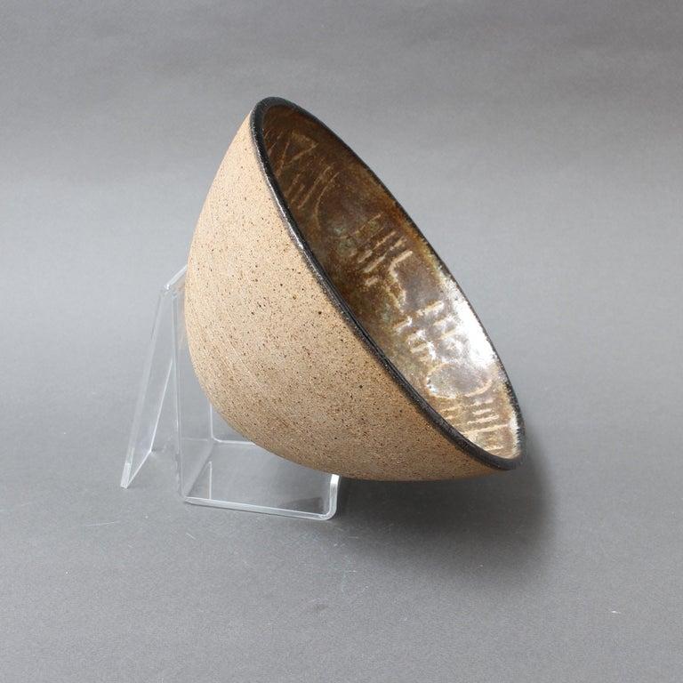 Ceramic Decorative Bowl by Bruno Gambone, circa 1990s For Sale 5