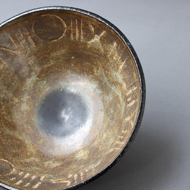 Ceramic Decorative Bowl by Bruno Gambone, circa 1990s For Sale 7