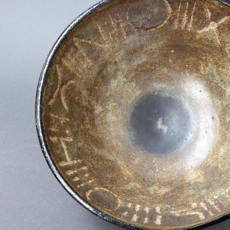 Ceramic Decorative Bowl by Bruno Gambone, circa 1990s For Sale 8