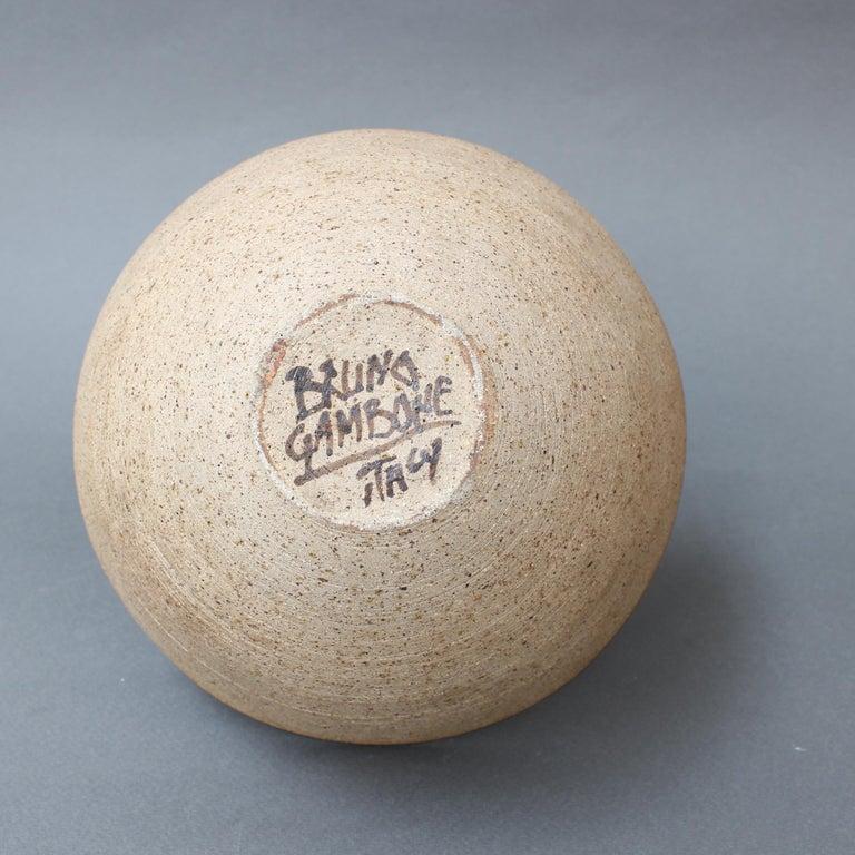 Ceramic Decorative Bowl by Bruno Gambone, circa 1990s For Sale 9