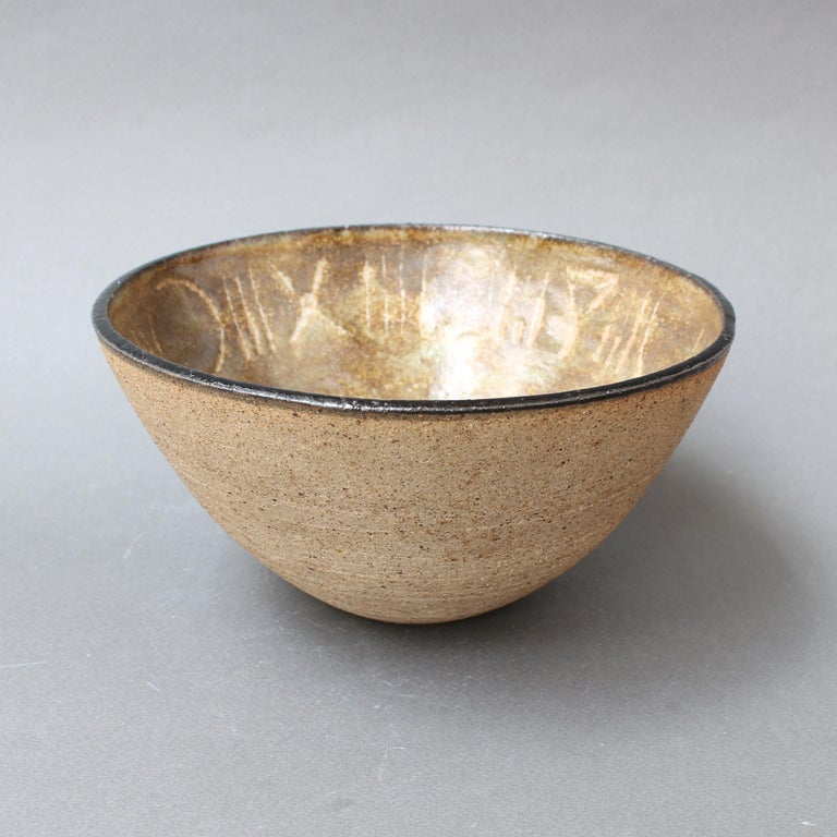 Ceramic Decorative Bowl by Bruno Gambone, circa 1990s For Sale 1