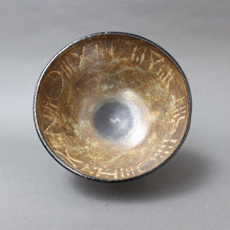 Ceramic Decorative Bowl by Bruno Gambone, circa 1990s For Sale 2
