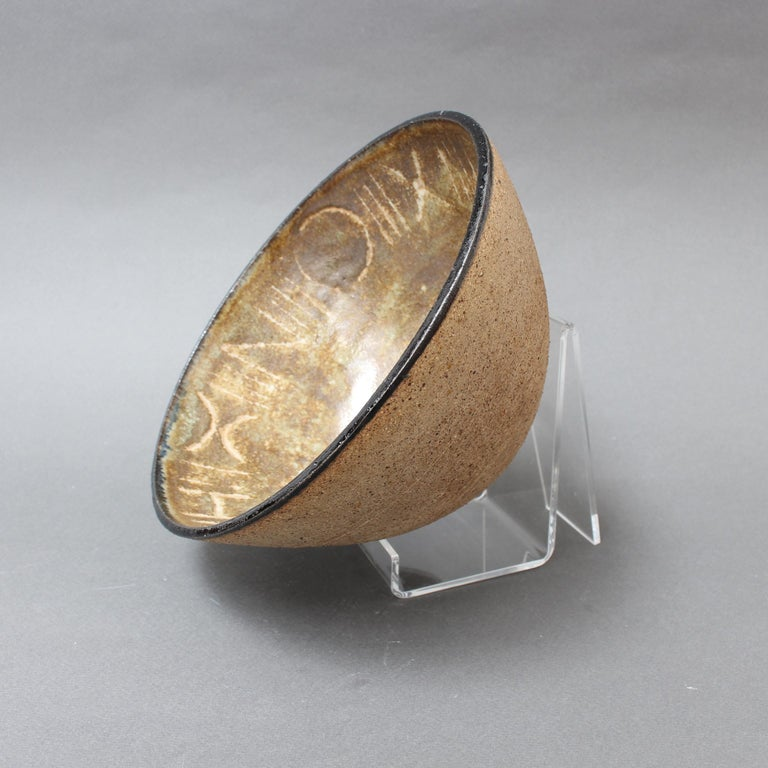 Ceramic Decorative Bowl by Bruno Gambone, circa 1990s For Sale 3