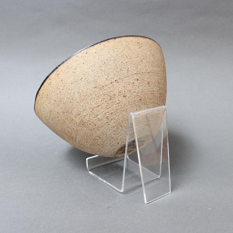 Ceramic Decorative Bowl by Bruno Gambone, circa 1990s For Sale 4