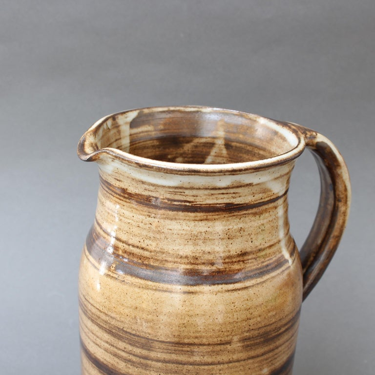 Ceramic Decorative Pitcher by Dominique Pouchain, circa 1980s For Sale 11