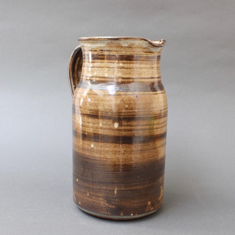 Ceramic Decorative Pitcher by Dominique Pouchain, circa 1980s In Good Condition For Sale In London, GB