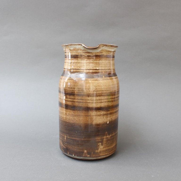 Ceramic Decorative Pitcher by Dominique Pouchain, circa 1980s For Sale 1