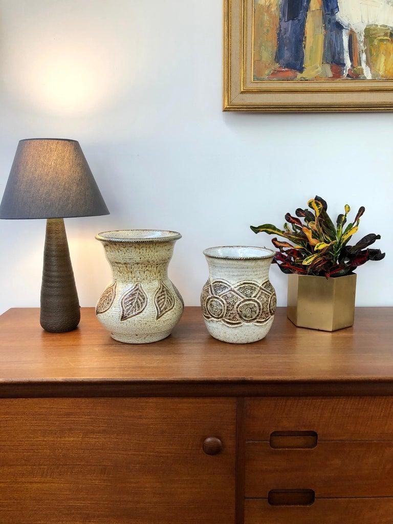Mid-Century Modern Ceramic Decorative Vase by Marcel Giraud, Vallauris, 'circa 1960s' For Sale