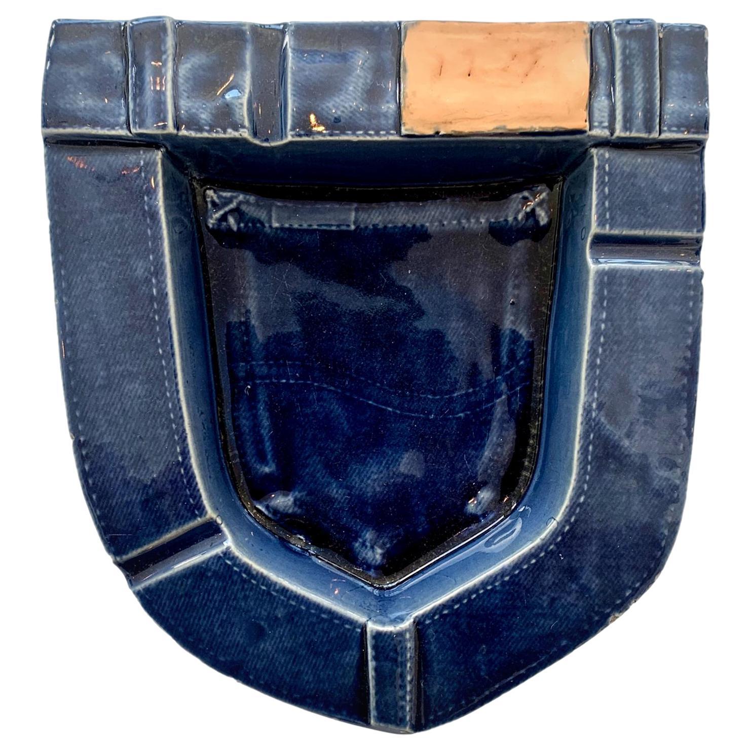 Ceramic Denim Pocket Catchall