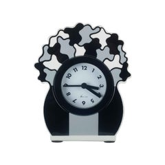 Ceramic Desk Clock by George Sowden for Neos, Italy, 1980s