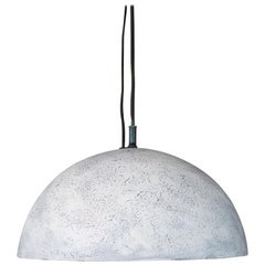 Hand Formed Ceramic Dome Pendant Light