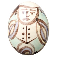 Ceramic Easter Egg from Atelier Madoura 'circa 1960s'