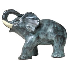 Ceramic Elephant by Michael Andersen, Denmark, 1970s