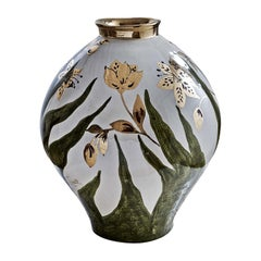 Ceramic Flower Vase by Ceccarelli