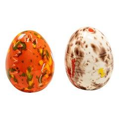 Ceramic Glazed Eggs