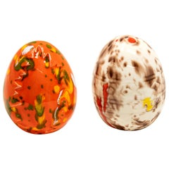 Ceramic Glazed Eggs