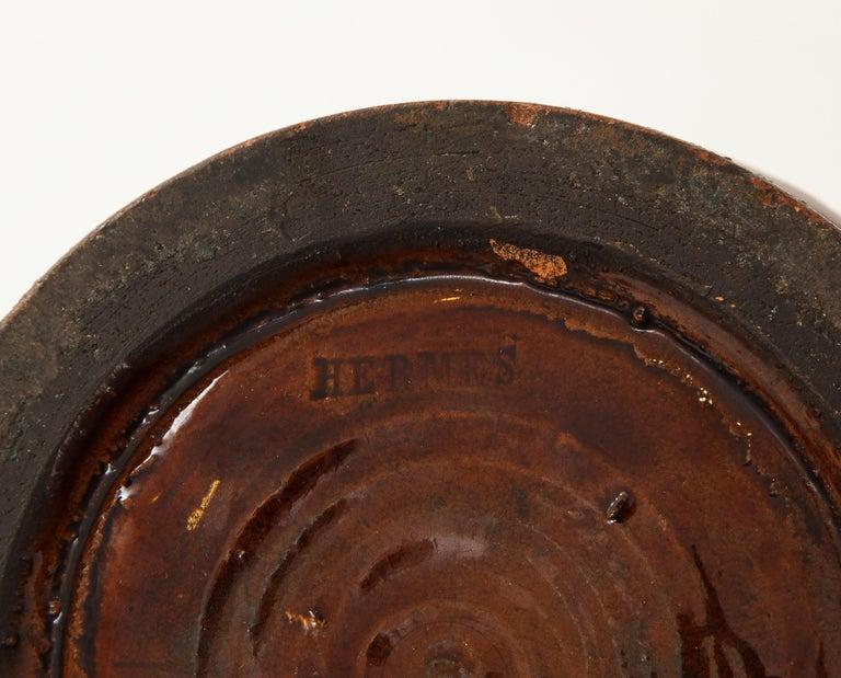 Ceramic Hermès Tabacco Jar For Sale 2