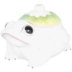 Ceramic Jar Frog