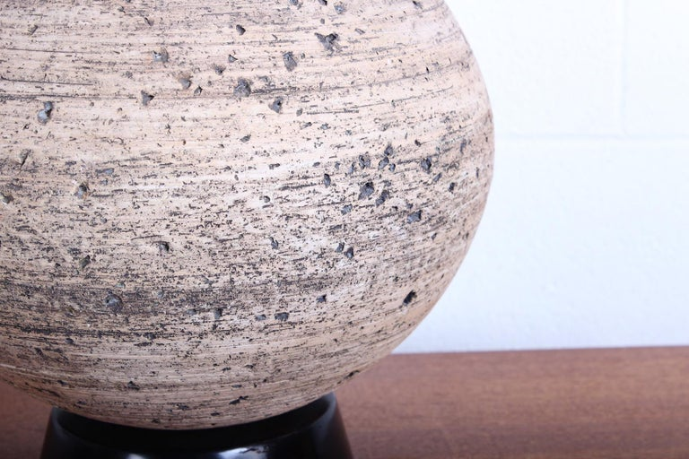 Ceramic Lamp by Edward D. Jay For Sale 1