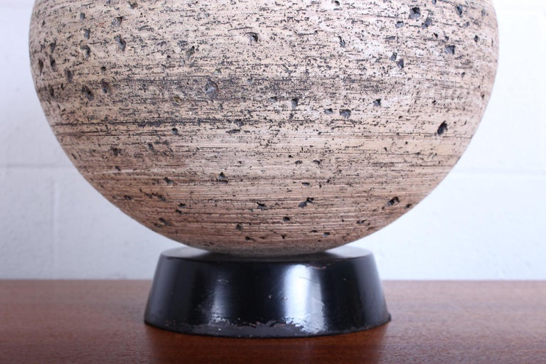 Ceramic Lamp by Edward D. Jay For Sale 2