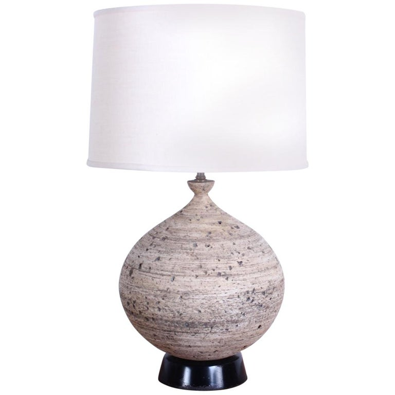 Ceramic Lamp by Edward D. Jay For Sale