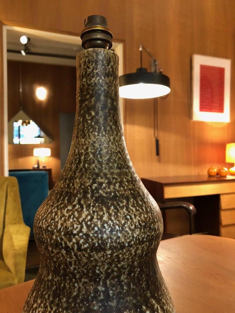 Ceramic Lamp by Les 2 Potiers For Sale 2