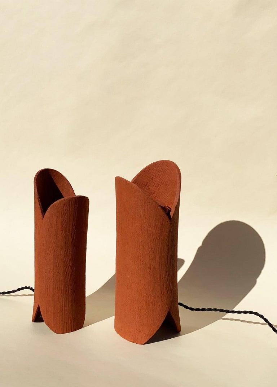 Ceramic Lamp by Olivia Cognet For Sale 4