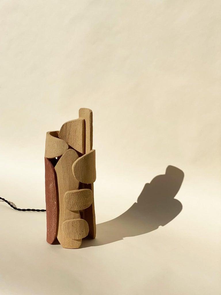 Ceramic Lamp by Olivia Cognet For Sale 6