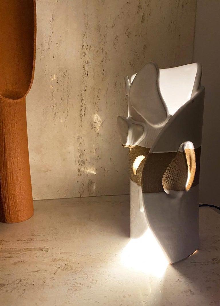 Ceramic Lamp by Olivia Cognet For Sale 9