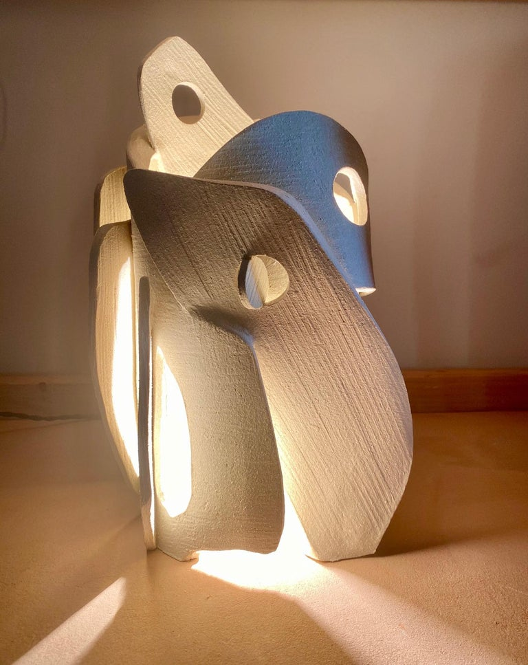 Ceramic Lamp by Olivia Cognet In New Condition For Sale In Geneve, CH